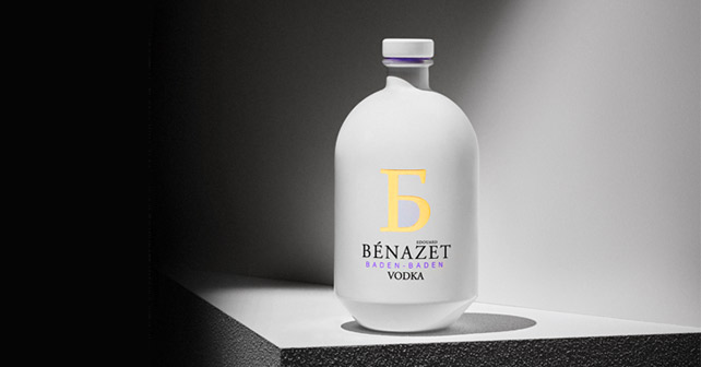 BÈNAZET VODKA Design