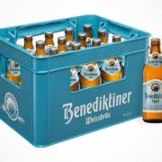 Benediktiner Hell Euro-Flasche