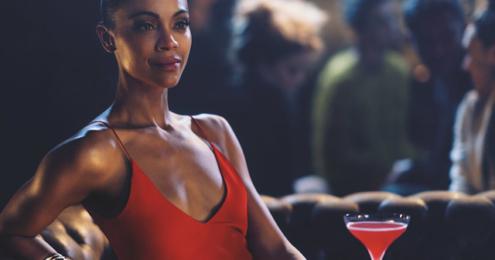 Campari Zoe Saldana