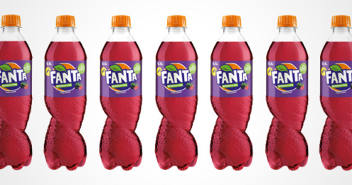 Fanta Wildberries Flaschen