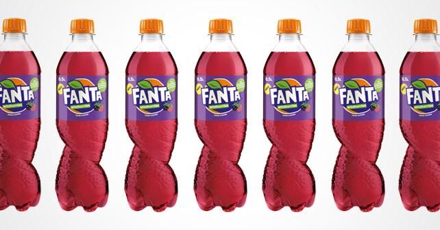 Fanta Wildberries Flaschen