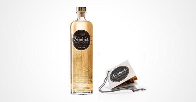 Friedrichs Fasskorn KIP Flasche Anhänger