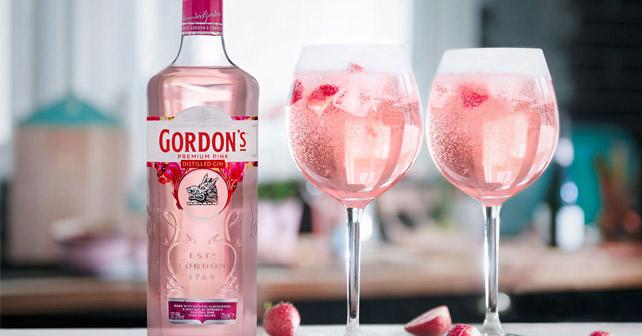 Gordon's Pink Gin Drinks