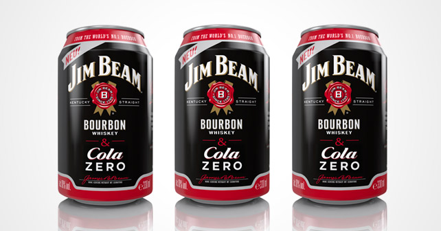 Jim Beam & Cola ZERO Dosen