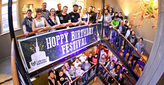 Liebesbier Hoppy Birthday