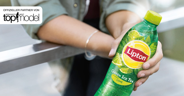 Lipton Green Germany's next Topmodel