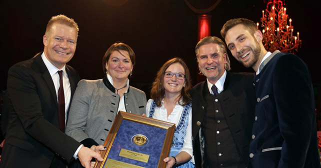 """Paulaner """"Stern der Gastlichkeit"""" 2018"""