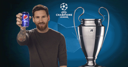 PepsiCo UEFA Champions League Lionel Messi
