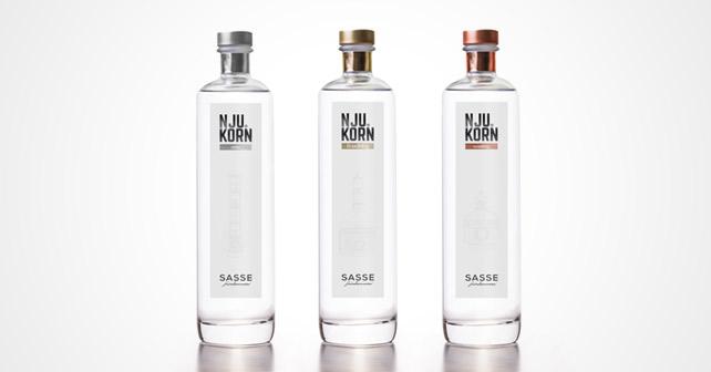 Sasse Nju Korn Flaschen