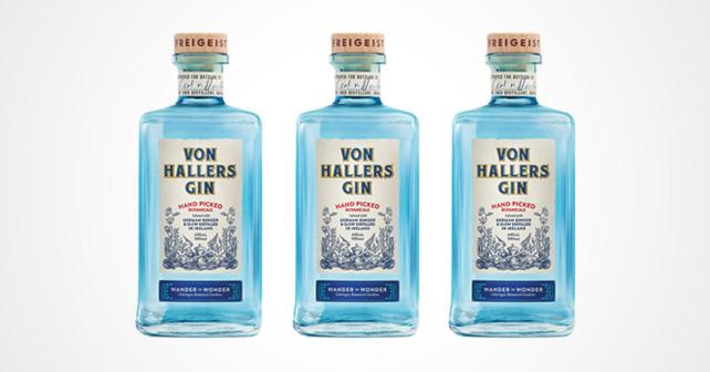 VON HALLERS GIN Flaschen