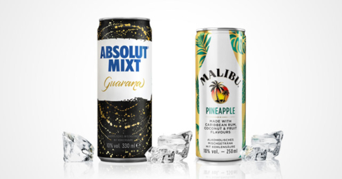 Absolut MIXT Guarana Malibu Pineapple