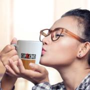 CUP&CINO Frau Tasse