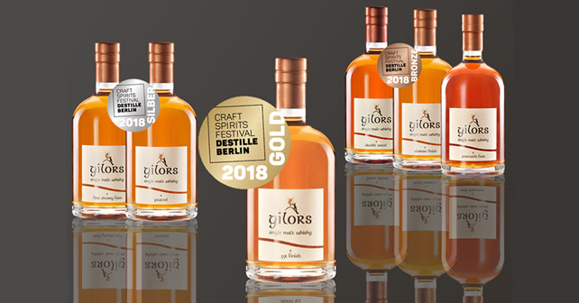 Gilors Whisky DESTILLE BERLIN 2018