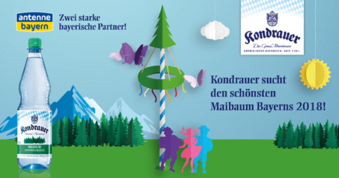 Kondrauer Maibaum Promotion