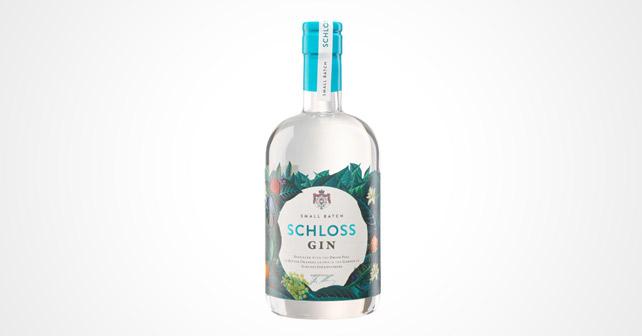 Schloss Gin Flasche