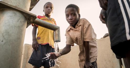 share Aktion gegen den Hunger Brunnen