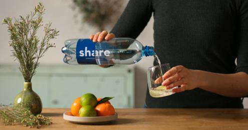 share Mineralwasser