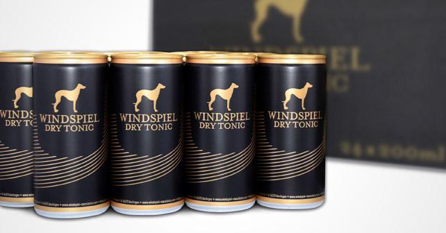 Windspiel Dry Tonic Dosen