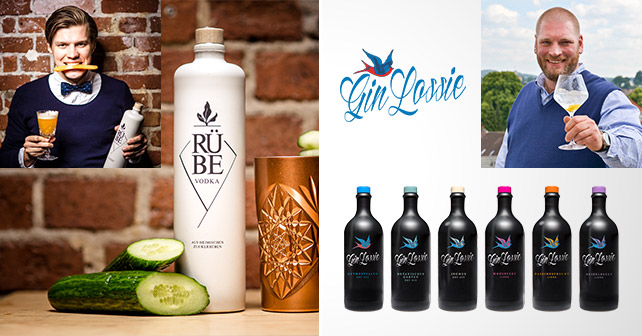 Teaser Gin Lossie RÜBE Vodka