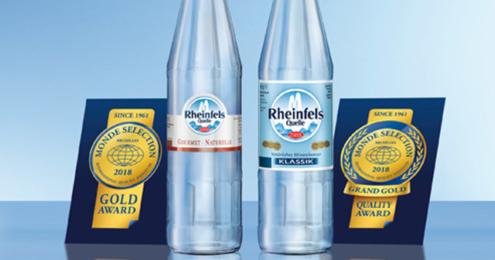Rheinfells Gold Auzeichnung