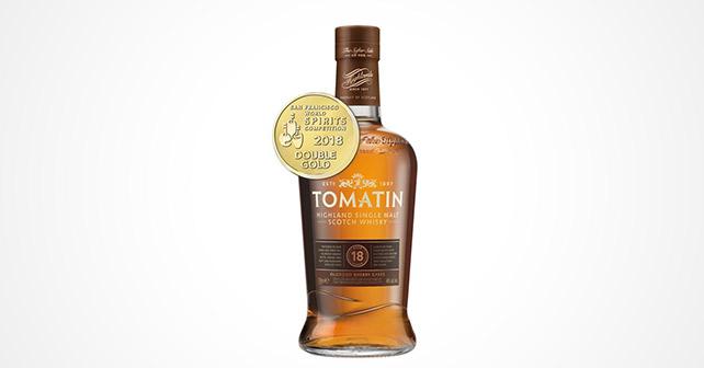 Tomatin 18yo gewinnt Doppel-Gold
