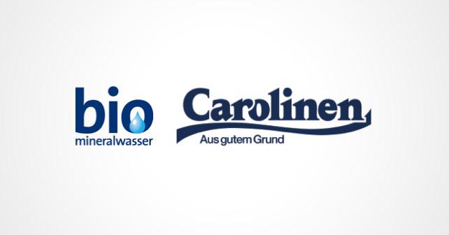 Bio-Mineralwasser Carolinen Logos