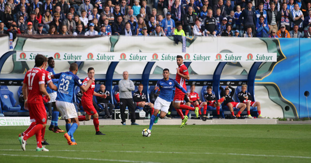 Lübzer Hansa Rostock Stadion
