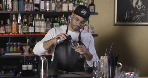 Timon Kaufmann Brewing Bartender