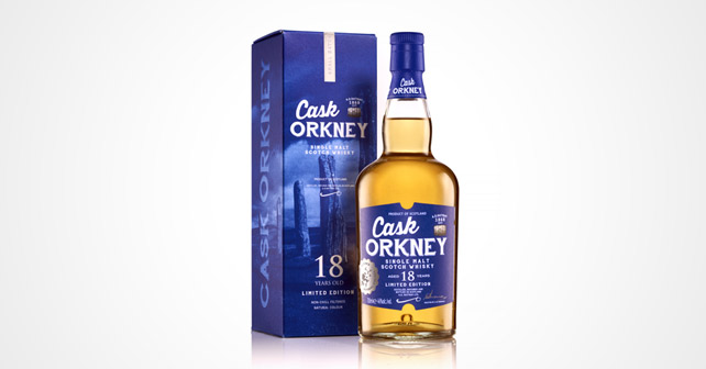 A.D. Rattray CASK ORKNEY