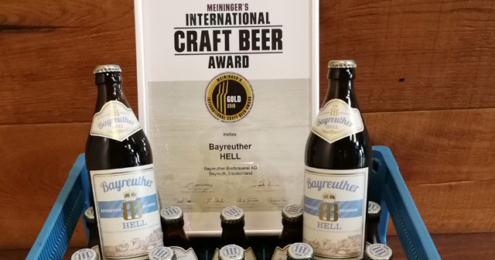 BAYREUTHER HELL Craft Beer Award 2018