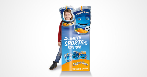 Capri-Sun Limited Sports Edition Aufsteller