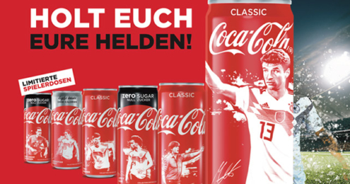 Coca-Cola Dosen WM 2018