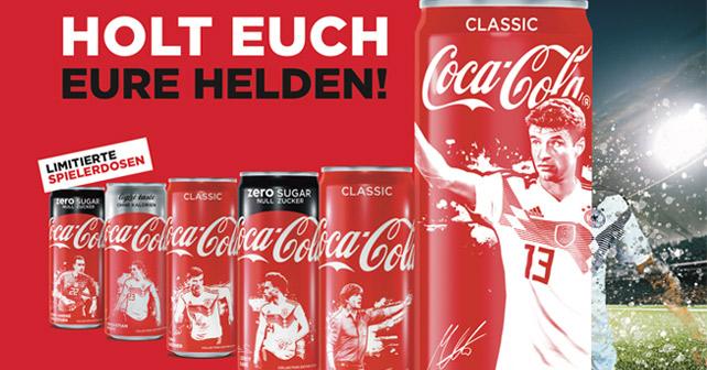Coca-Cola Dosen WM 2018