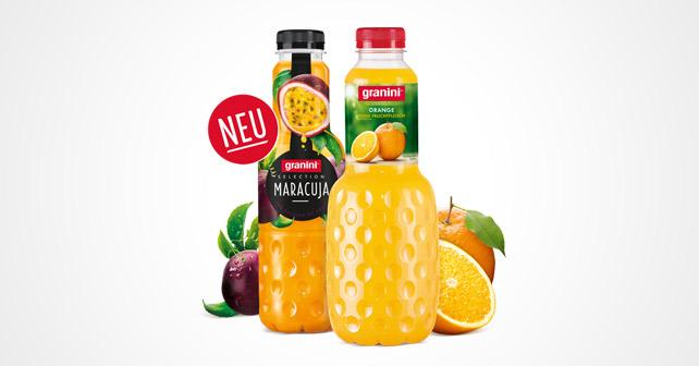 granini Selection Flaschen