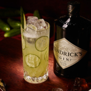 Hendrick's Gin Gurke Drink