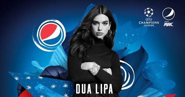 Pepsi UEFA Dua Lipa