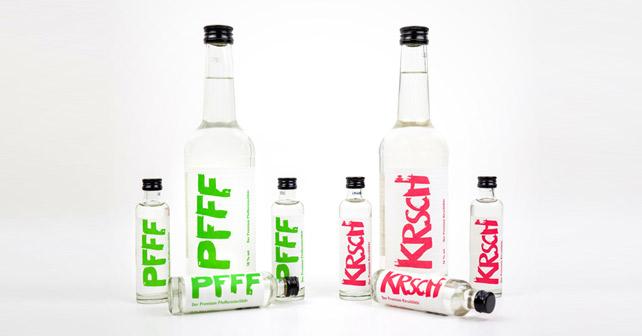 PFFF KRSCH Flaschen