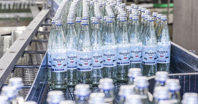 Rheinfels Quelle Individual Glasflaschen