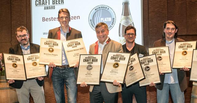 Riegele Craft Beer Award 2018