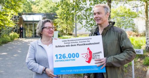 SodaStream Petition Hannes Jaenicke Svenja Schulze