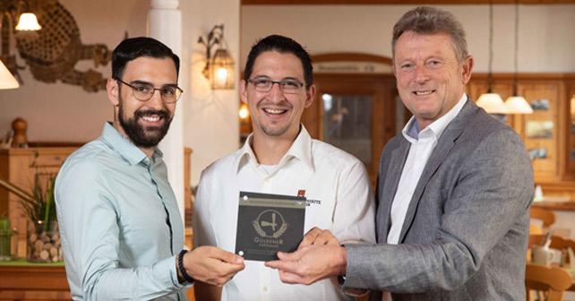 Dinkelacker mit Goldenem Zapfhahn ausgezeichnet