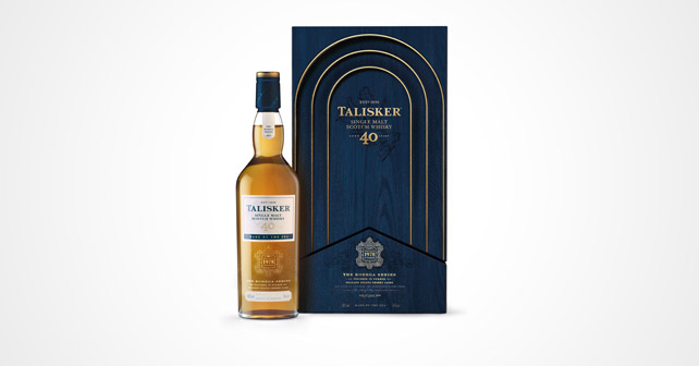 Talisker 40 years old