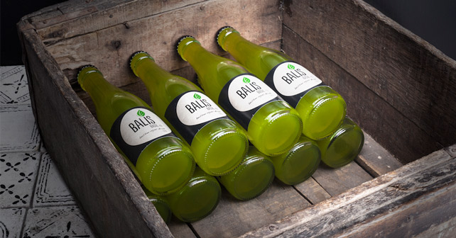 BALIS Flaschen Kiste