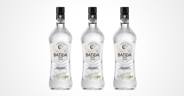 Mangaroca Batida com Rum
