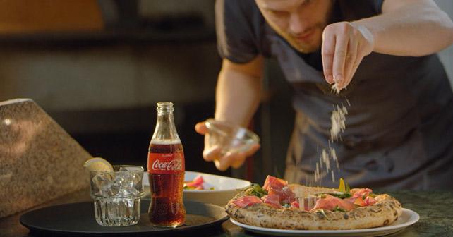 Coca-Cola Glasflasche The Original Way