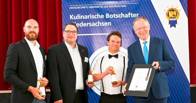 Ostfriesen Eistee Kulinarischer Botschafter Niedersachsens 2018