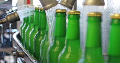 Heimischer Bierabsatz