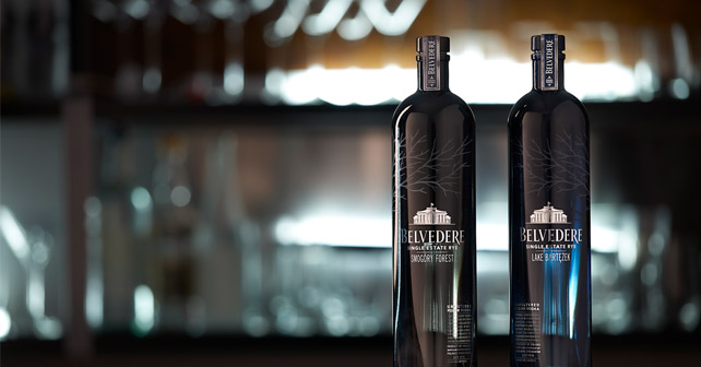 Belvedere Vodka Single Estate Rye Serie
