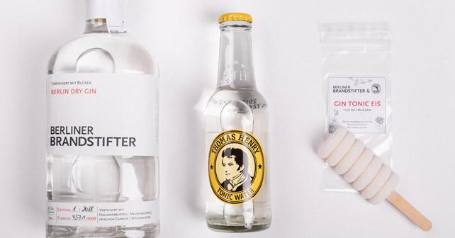 Berliner Brandstifter Gin Tonic Eis