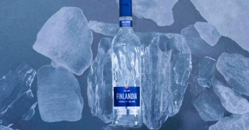 FINLANDIA Vodka neue Flasche